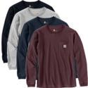 WK126 workwear pocket L/S t-shirt