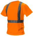 Hi-Vision T-Shirt Met H Balk Reflectie