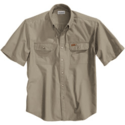 FORT SOLID SHORT SLEEVE SHIRT
