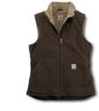WOMEN SANDSTONE MOCK NECK VEST