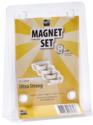 magpaint magneten lieveheersbeestjes sterk 4 stuks